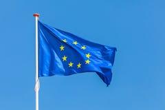 Officiële vlag van de Europese Unie Stock Afbeeldingen