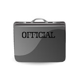 Official briefcase Royalty Free Stock Photo