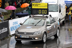 Official Car of the Bucharest City Maraton Stock Images