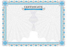 Official certificate Royalty Free Stock Photos