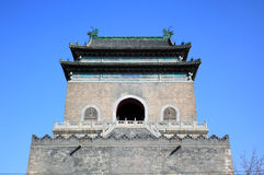 The official city bell tower of Beijing Royalty Free Stock Image