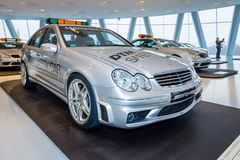 Official DTM Safery car Mercedes-Benz C55 AMG, 2004 Royalty Free Stock Photography