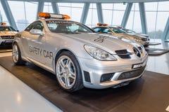Official DTM Safery car Mercedes-Benz SLK55 AMG, 2005 Stock Image