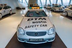Official DTM Safery car Mercedes-Benz SLK32 AMG, 2002. Royalty Free Stock Image