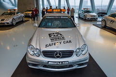Official F1 Safery car Mercedes-Benz CLK55 AMG, 2003. Stock Photos