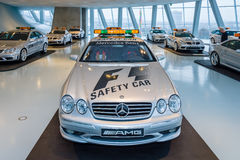 Official F1 Safety car Mercedes-Benz CL55 AMG, 2000. Royalty Free Stock Photo