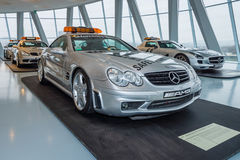 Official F1 Safety car Mercedes-Benz SL55 AMG, 2002 Royalty Free Stock Image