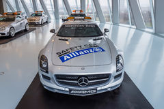 Official F1 Safety car Mercedes-Benz SLS AMG Coupe, 2010 Royalty Free Stock Images