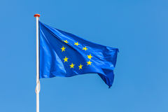 Official flag of the European Union Stock Images