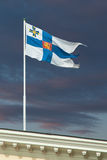 The official flag of Finland's President Royalty Free Stock Photography