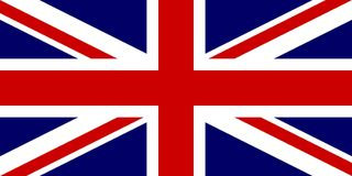 Official flag of United Kingdom of Great Britain and Northern Ireland. UK flag aka Union Jack. Vector illustration.  Royalty Free Stock Image
