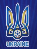 Official Football Federation of Ukraine Logo royalty free stock image