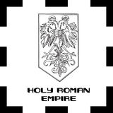 Official government ensigns of Foly Roman Empire Stock Photos