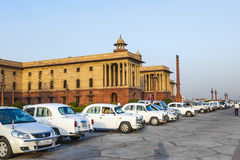 Official Hindustan Ambassador cars Stock Images