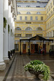 Official hotel of the State Hermitage Museum in St. Petersburg, Russia Royalty Free Stock Images