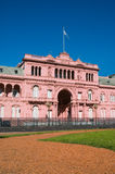 Official house of the president of Argentina. Royalty Free Stock Images