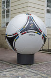 Official matchball Euro-2012 Stock Photo