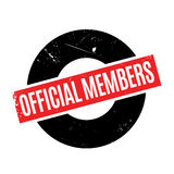 Official Members rubber stamp Royalty Free Stock Photo