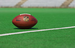 Official NFL ball Royalty Free Stock Photo