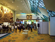 Official opening ceremony Ecolighttech asia 2014 Royalty Free Stock Photos