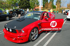 Official Pace Car for the Irwindale Speedway, California. Royalty Free Stock Image