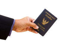Official passport Royalty Free Stock Photo