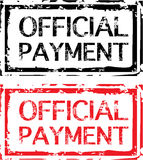 Official Payment Grunge Stamp Vector. File eps Royalty Free Stock Images