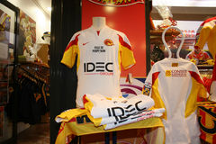 Official presentation f the Catalans Dragons f Stock Image
