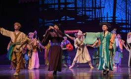 "Official representative-Dance drama ""The Dream of Maritime Silk Road"". Dance drama ""The Dream of Maritime Silk Road"" centers on the plot of two Royalty Free Stock Photo"