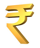 Official Rupee Symbol Royalty Free Stock Photography