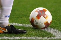 Official UEFA Europa League match ball Stock Photo