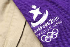 Official uniform of the Youth Olympic Games Stock Photography