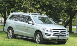 Official Vehicle of the US Open Mercedes- Benz at National Tennis Center during US Open 2013 Stock Image