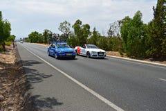 Shimano Neutral Vehicle Car And Medical Car La Vuelta España Royalty Free Stock Image