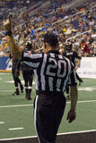 Arena Football Officials at Arizona Rattlers Game Royalty Free Stock Photo