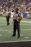 Arena Football Officials at Arizona Rattlers Game Stock Photography