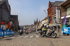 Officical rowery - wycieczka turysyczna Flandryjski 2019 zdjęcia royalty free