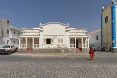 Officieel de bouwzout Rei Cape Verde royalty-vrije stock afbeelding