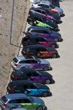 Officieel Olympisch BMW van Londen 2012 5 reeksen. Royalty-vrije Stock Fotografie
