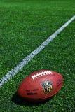 Officiell boll för NFL royaltyfri fotografi