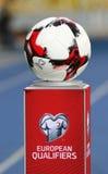 Officiell matchboll av den FIFA världscupen 2018 arkivfoton