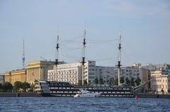 officiella sikter av hamnen, trevliga Frankrike Royaltyfria Bilder