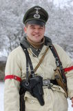 officier allemand ww2 photographie stock