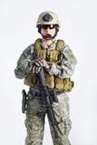 Officier d'équipe de SWAT Image stock