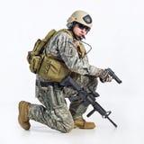 Officier d'équipe de SWAT Photographie stock