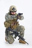 Officier d'équipe de SWAT Images stock