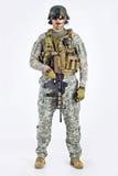 Officier d'équipe de SWAT Photographie stock libre de droits