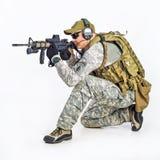 Officier d'équipe de SWAT Photos stock