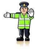 Officier de circulation illustration libre de droits