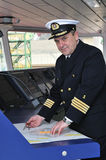 Officier de navigation Photos libres de droits